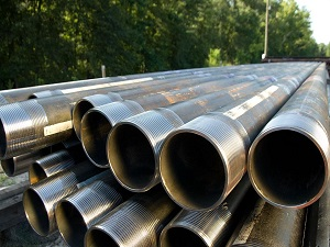 Processing technology of seamless casing pipe coupling